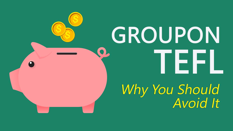 Groupon TEFL Feature