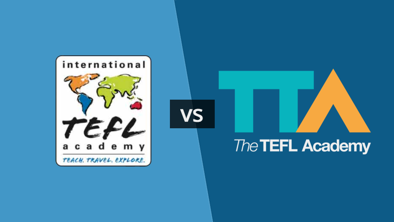 International TEFL Academy vs The TEFL Academy