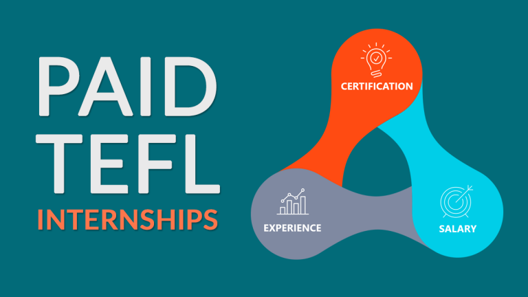 TEFL Internships: Get Paid with Teaching Experience