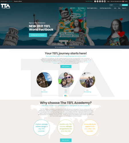 The TEFL Academy Website